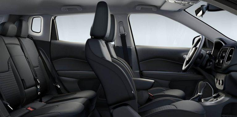 Jeep® Compass | Neuer SUV | Interieur - Sitze und Navigation