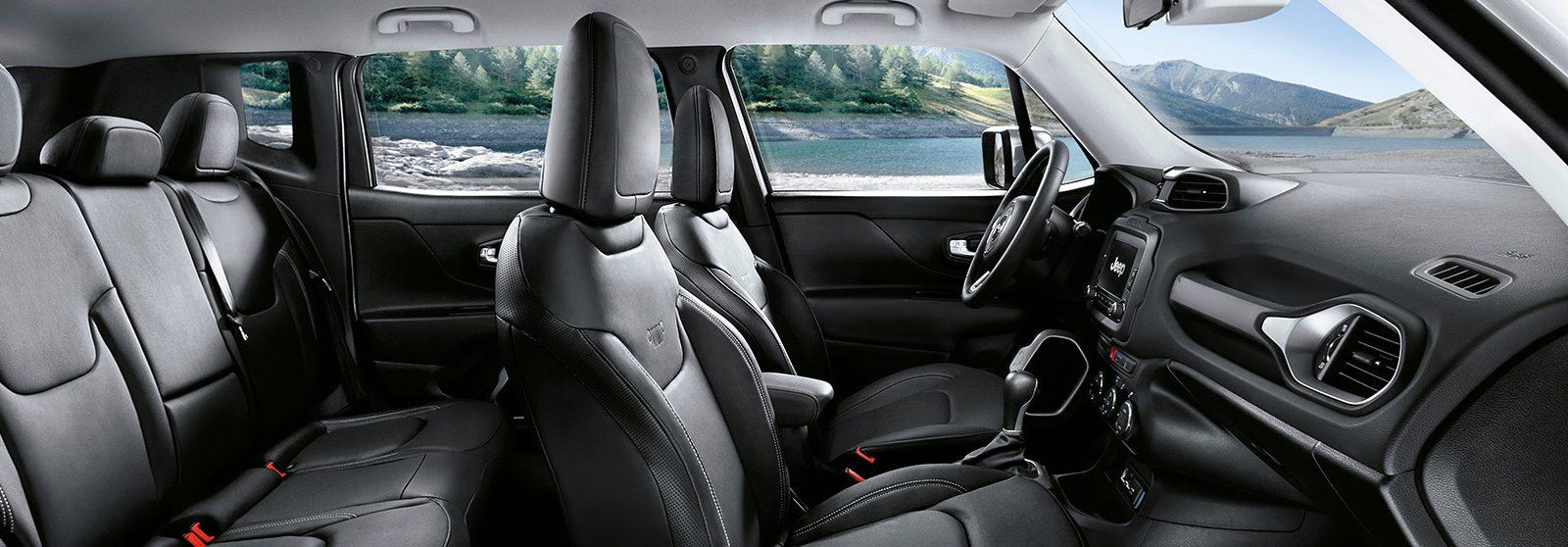 Jeep® Renegade | Kompakt-SUV | Interieur - Sitze und Navigation