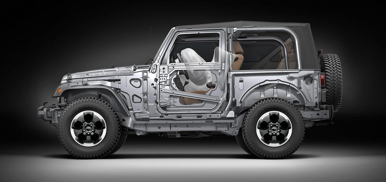 Jeep® Wrangler   Komfortabler Geländewagen   Sicherheitssysteme