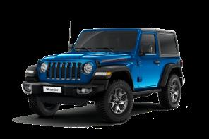 Jeep® Wrangler JL Unlimited Sahara Geländewagen rot Vorderansicht
