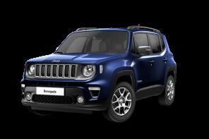 Jeep® Renegade Limited Kompakt-SUV blau Vorderansicht