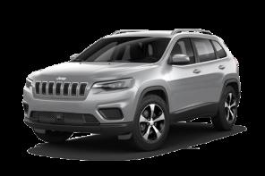 Jeep® Cherokee großes SUV weiß Vorderansicht
